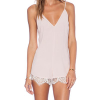 Lovers + Friends x REVOLVE Ruby Romper in Blush