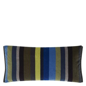 Designers Guild Lambusa Cobalt Decorative Pillow