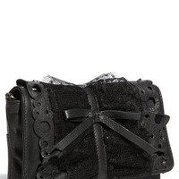 RED Valentino Lace Ruffle Clutch | Nordstrom