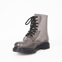 Dirty Laundry Ratatat Lace Up Boots $44