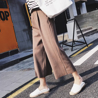 Pants Korean Twisted Casual Leggings [10204559687]