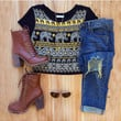 Milly Elephant Crop Top