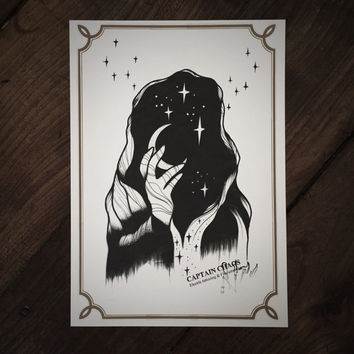 LIMITED Black Magic - Tattoo print 50/50 signed