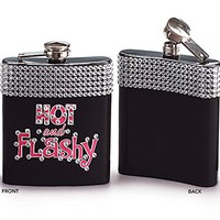 Hot and Flashy Rhinestone Stainless Steel Flask