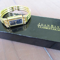 JOAN RIVERS Quartz Watch with Original Box