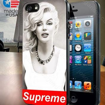 Marilyn Monroe Supreme Design for iPhone 4/4S, 5/5S, and Samsung Galaxy S3/S4