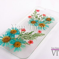 Pressed Flower case, Daisy, sunflower, iPhone 5 case, iPhone 4 case, iPhone 4s case, iPhone 5s case iPhone 5c case Galaxy S4 S5 Note 3, 095