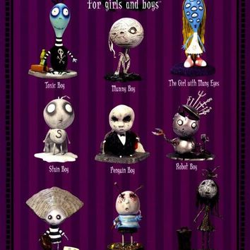 Tim Burton's Tragic Toys 11x17 Movie Poster