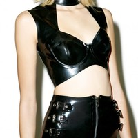 ABBEY LATEX SHORT