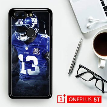 Odell Beckham Jr New York Giants X5642  OnePLus 5T / One Plus 5T Case