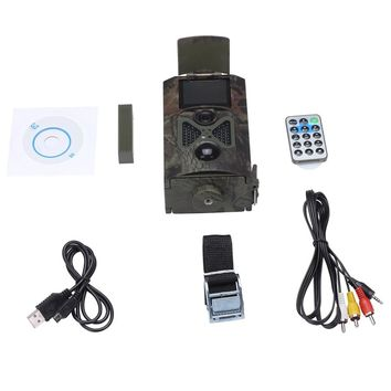 1080P Night Vision Wide View Wild 12mp Hunting HD Digital Sports Camera HC100 free shipping