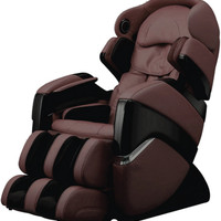 Osaki Cyber Full Body Zero Gravity Massage Chair with Heat in Brown