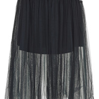 Layered Mesh Prom Skirt - Topshop