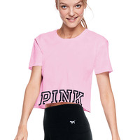 Ladder Back Tee - PINK - Victoria's Secret