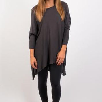 Fall Back Sweater - Charcoal