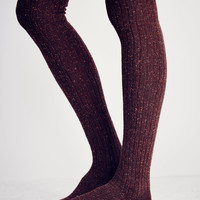 Free People Falling Leaves Over the Knee Sock