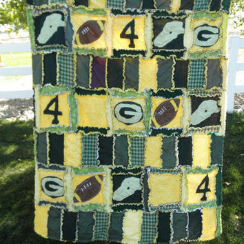 Clearance Sale 50% Off Rag Quilt PATTERN, Football Applique Sewing, Rag, Car Seat Cover and Blanket, HARD Copy