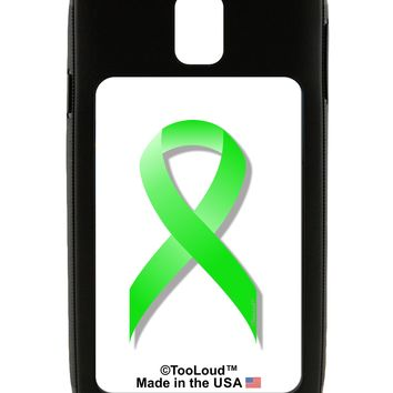 Lyme Disease Awareness Ribbon - Lime Green Galaxy Note 3 Case  by TooLoud