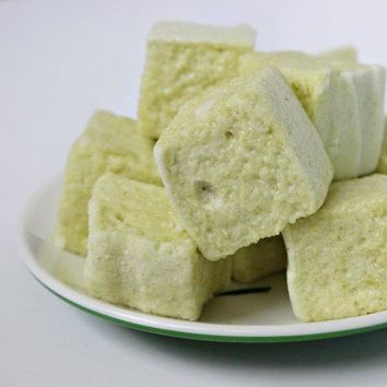 Green Tea Matcha Gourmet Handmade Marshmallows (set of 12)