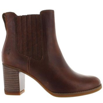 Timberland Earthkeepers Atlantic Heights Gore   Brown Leather Chelsea Boot
