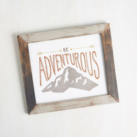 Ready, Frame, Admire! Wall Decor in Adventure | Mod Retro Vintage Decor Accessories | ModCloth.com