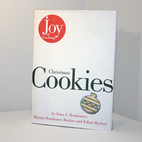 Vintage Joy of Cooking Christmas Cookies, Holiday Baking Recipes