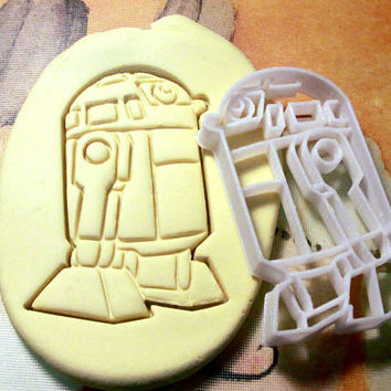 R2D2 Star Wars Cookie Cutter - Made from Biodegradable Material