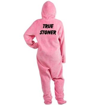 TRUE STONER Footed Pajamas> TRUE STONER> 420 Gear Stop