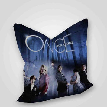 Once Upon A Time cover, pillow case, pillow cover, cute and awesome pillow covers