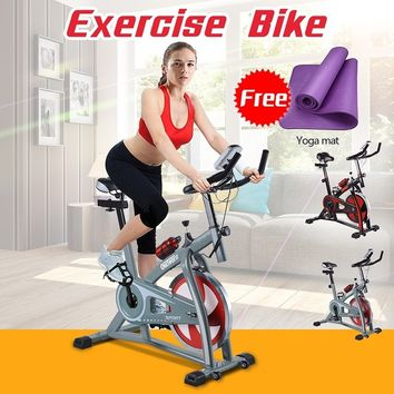 OneTwoFit Indoor Exercise Bike Cycling Spinning Bike Home Gym Cardio Training Workout OT018