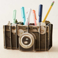Vintage Camera Artful Desk Organizer - Urban Outfitters