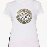Luxe Crest Patch Tee