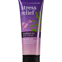 Bath Body Works Aromatherapy Stress Relief Eucalyptus Tea 8.0 oz Body Cream