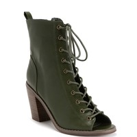 Olive Super Sultry Booties