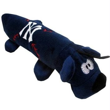 New York Yankees Plush Tube Pet Toy