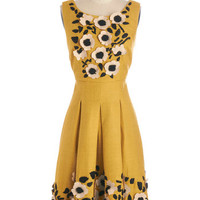 Tracy Reese Long Sleeveless A-line Tracy Reese Exquisite Elation Dress