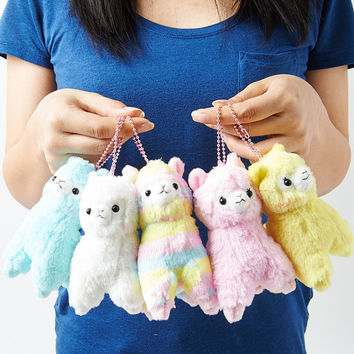 Alpacasso Plushies - Rainbow (Key Chain)