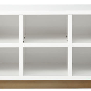oberlin small white entry bench.