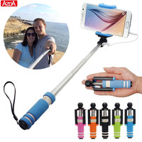 Phone camera Selfie stick Monopod For iPhone 5 5s 6 6s 7 Plus For Samsung Galaxy S5 S6 J1 J7 J3 J5 A3 A5 2016 Grand Prime case