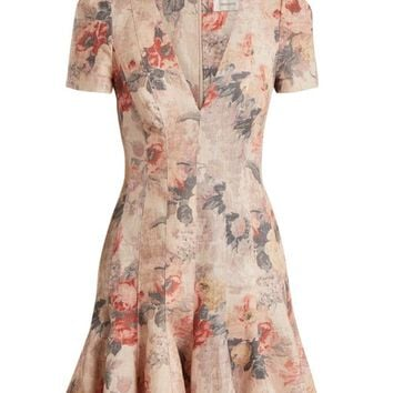 Radiate Flip floral dress | Zimmermann | MATCHESFASHION.COM UK