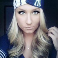 New York Yankees MLB basball twist headband