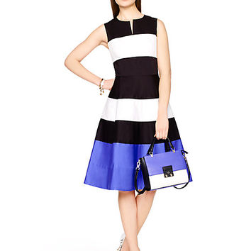 Kate Spade Corley Dress Blue Multi