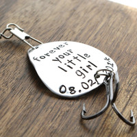 Forever Your Little Girl Fishing Lure