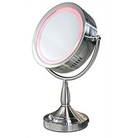 Double Sided Illuminated Makeup Mirror