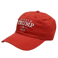 Unisex Donald Trump Campaign Cotton Baseball Cap Red