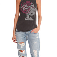 Chaser Blondie Cowl Back Muscle Tank