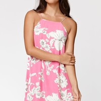 Motel Rocks Sun Dress - Womens Dress - Pink - Small