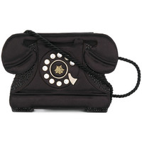 Charlotte Olympia Embellished Telephone Clutch Bag - Farfetch