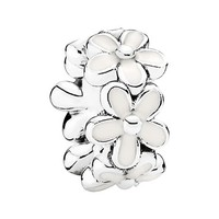 Women's PANDORA 'Darling Daisies' Spacer Charm
