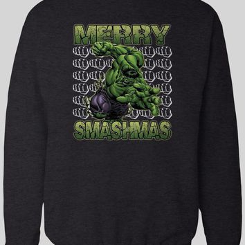 MERRY SMASHMAS HULK CHRISTMAS WINTER SWEATER